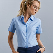 Ladies' Short Sleeve Easy Care Oxford Shirt