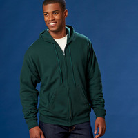 Adult ComfortBlend® EcoSmart® Full-Zip Hooded Fleece