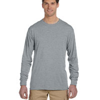5.3 oz., 100% Polyester SPORT with Moisture-Wicking Long-Sleeve T-Shirt