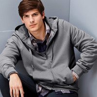 Adult nano Full-Zip Hooded Fleece
