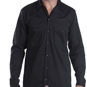 6 oz. Tall Industrial Long-Sleeve Cotton Work Shirt Thumbnail