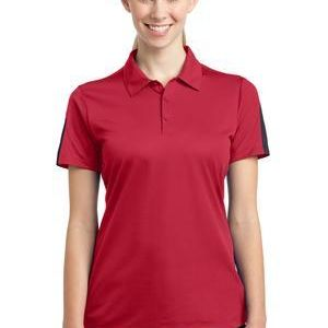 Ladies PosiCharge ® Active Textured Colorblock Polo Thumbnail