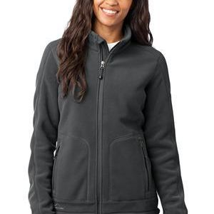 Ladies Wind Resistant Full Zip Fleece Jacket Thumbnail