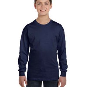 Youth 6.1 oz. Tagless® Long-Sleeve T-Shirt Thumbnail