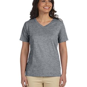 Ladies' Premium Jersey V-Neck T-Shirt Thumbnail