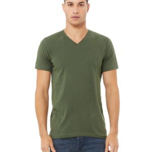 Unisex Jersey Short-Sleeve V-Neck T-Shirt Thumbnail