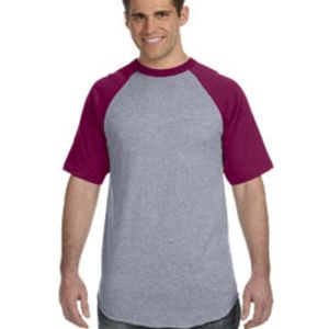 Adult Short-Sleeve Baseball Jersey Thumbnail