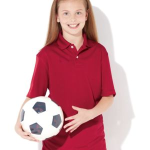 Youth Moisture Free Mesh Sport Shirt Thumbnail