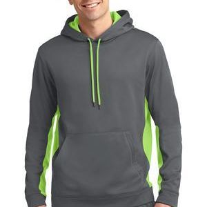 Sport Wick ® Fleece Colorblock Hooded Pullover Thumbnail