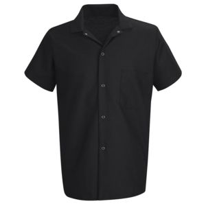 Poplin Cook Shirt with Gripper Closures Thumbnail