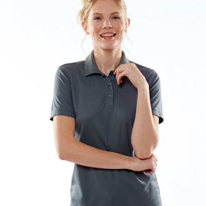 UltraClub® Ladies' Cool & Dry Mesh Piqué Polo Thumbnail