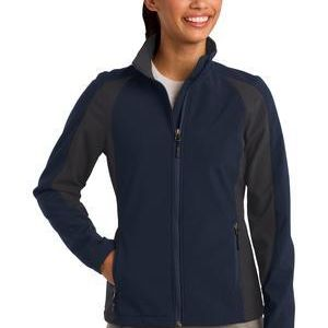 Ladies Colorblock Soft Shell Jacket Thumbnail