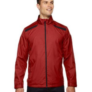 Men's Tempo Lightweight Recycled Polyester Jacket with Embossed Print Thumbnail