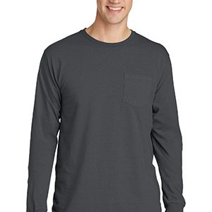 Pigment Dyed Long Sleeve Pocket Tee Thumbnail