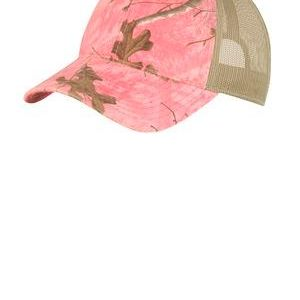 Unstructured Camouflage Mesh Back Cap Thumbnail