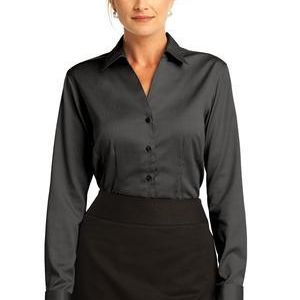 Ladies French Cuff Non Iron Pinpoint Oxford Thumbnail