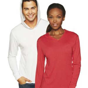 Next Level Unisex Tri-Blend Long-Sleeve Hoody Thumbnail