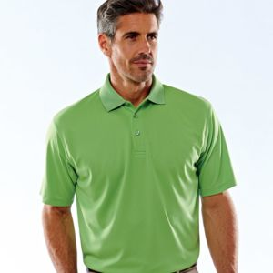UltraClub® Men's Cool & Dry Mesh Piqué Polo Thumbnail